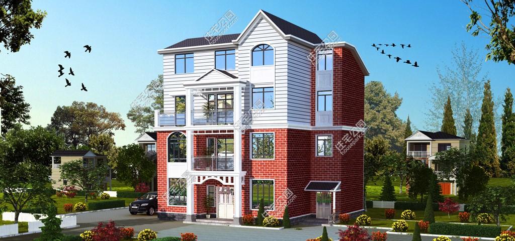 新农村欧式四层自建房别墅设计图 - 户型详情
